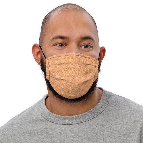 Orange Premium face mask