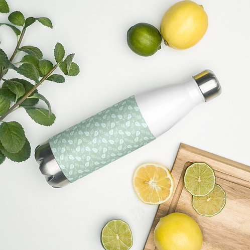 Leaf Stainless Steel Water Bottle