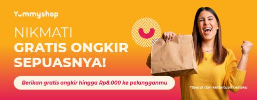 promo gratis ongkir Yummyshop