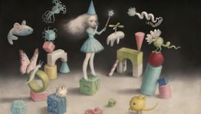 Poetica e simbolica, notturna e lunare, romantica: l'arte di Nicoletta Ceccoli