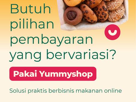 Praktis Pilih Pembayaran Online di Yummyshop