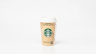 Cup of Starbucks coffe