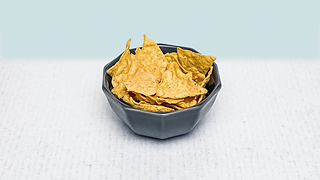 Bowl of tortilla chips