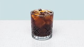 Glass of cold brew coffe