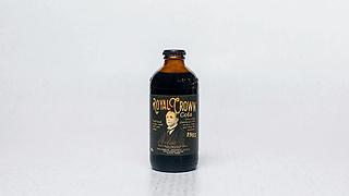 Bottle of cola flavoured soda