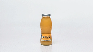 Bottle od fruit juice with grapefruit flavour