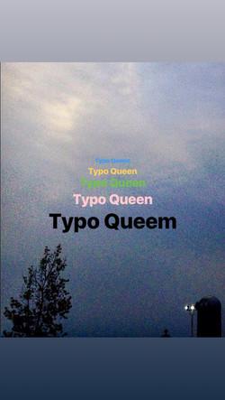 typo queen