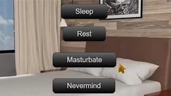 sleep rest masturbate nevermind