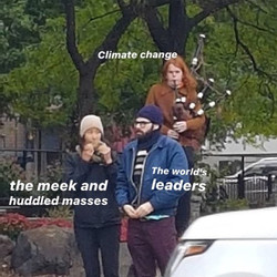 Climate Change Bagpipes
