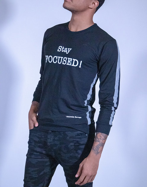 """Unisex """"Stay FOCUSED!"""" Quote Shirt"""