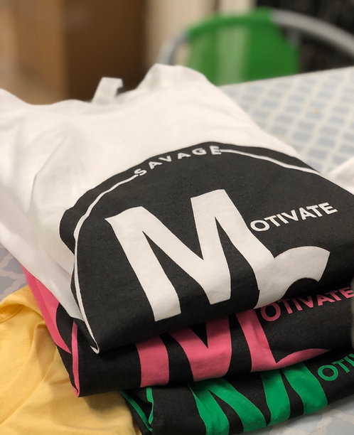 """Motivate Self"" Logo T-Shirt"