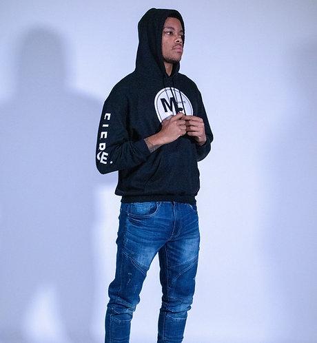 """Unisex """"Motivate Self"""" Hooded Sweatshirt"""