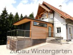 Zubau Wintergarten