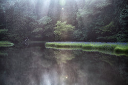 """""""Rays on the pond"""""""