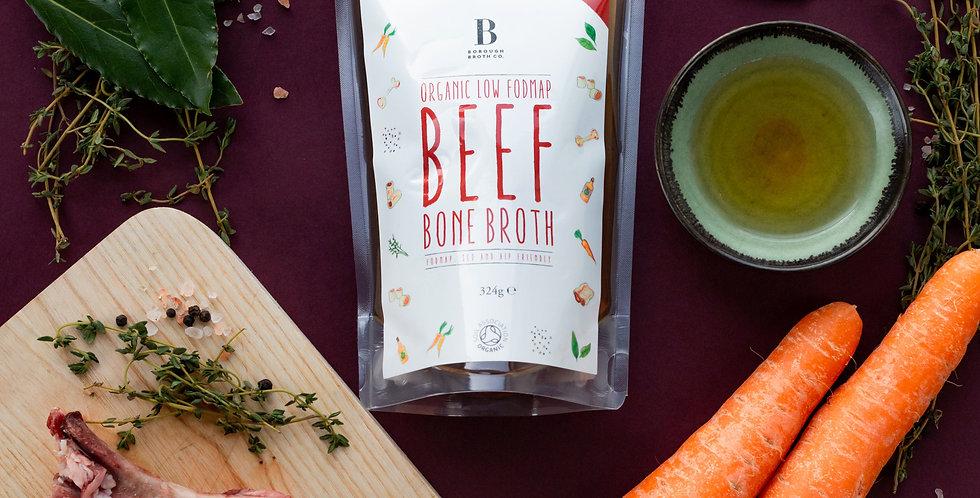 Low FODMAP organic beef bone broth