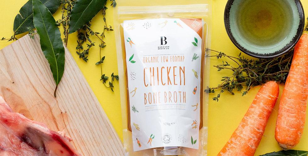 Low FODMAP organic chicken bone broth