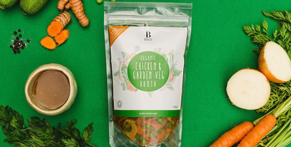 Organic Chicken & Garden Veg Broth Bundles