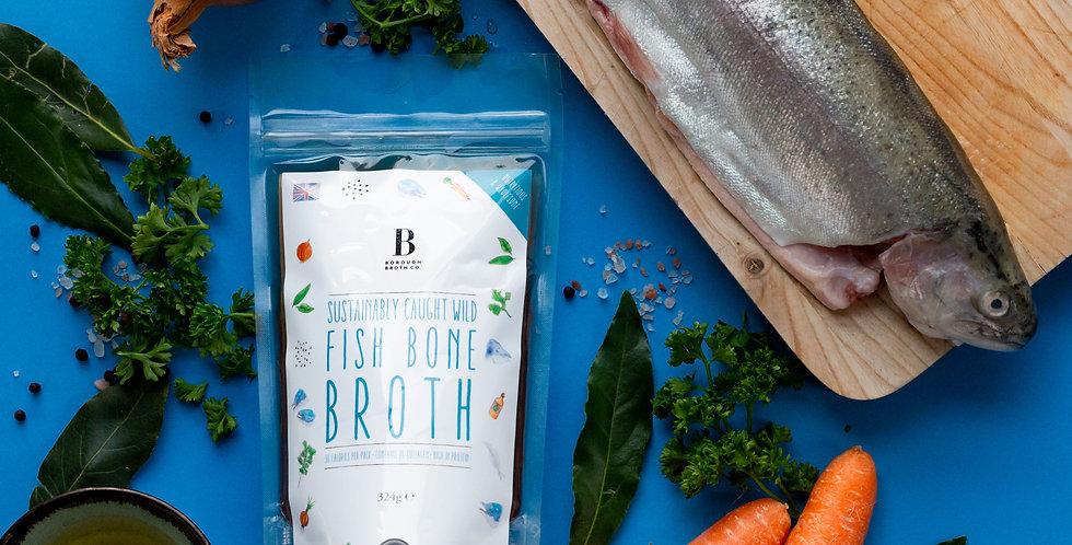 Sustainably caught Wild Fish Bone Broth