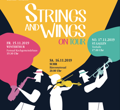 Strings and Wings on Tour