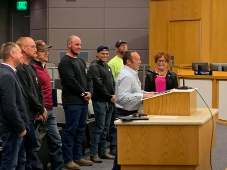 National Apprenticeship Week recognized by Washoe County Commission and Reno + Sparks City Councils