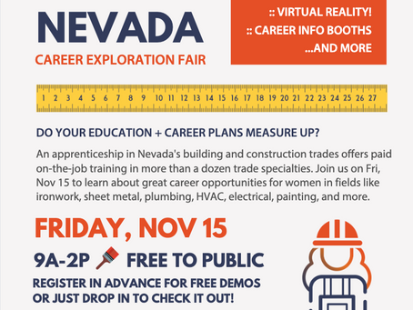 Women Build Nevada Career Expo 2019
