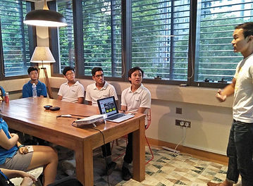 Student experience, visiting startups an