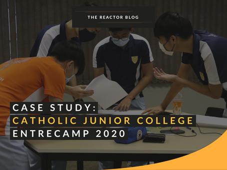 Catholic Junior College | EntreCamp 2020