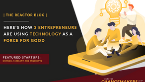 Here's How 3 Entrepreneurs Are Using Technology As A Force For Good