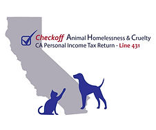 California Tax Checkoff - Prevention of Animal Homelessness & Cruelty