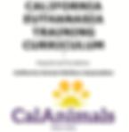 CA Euthanasia Training Curriculum 2020 P