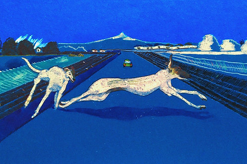 Greyhounds on the road