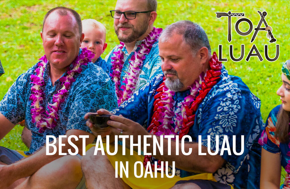 [Feast Your Eyes] on the Vibrant Festivities of an Authentic Polynesian Luau