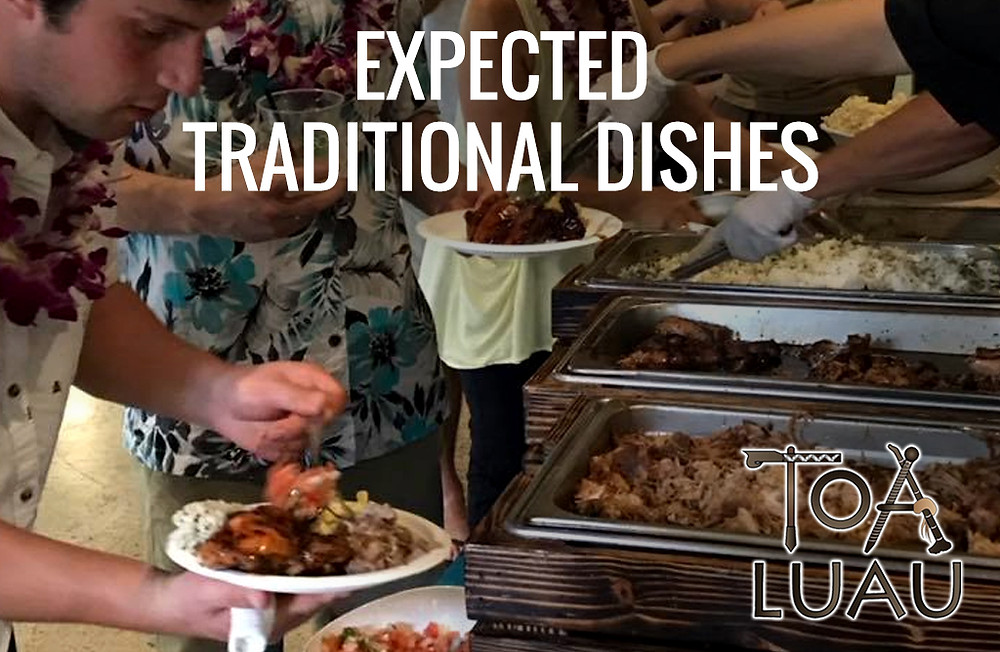 expected traditional dishes