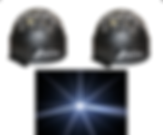 HIRE 111 - 2 x Astroballs (White)