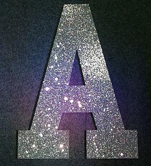 3ft Glitter Letters