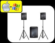 JBL Speakers & Sub