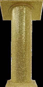Gold Glitter Lectern