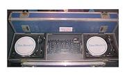 2 x Technics 1210 Turntables and Denon Mixer