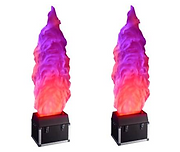 HIRE 30A - 2 x Large 4ft Flame Effects