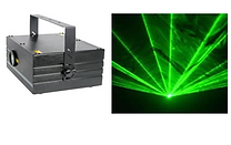 HIRE 102 - Large Green Laser