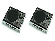 2 x Technics 1210 Turntables