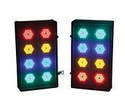 HIRE 96 - LED Party Lights (2 x 8 way)