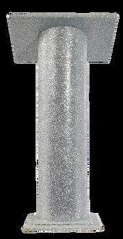 Silver Glitter Lectern