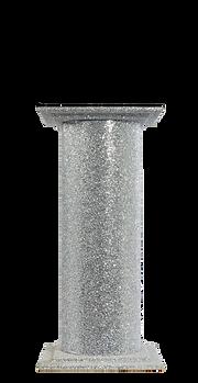 Silver Glitter Podium