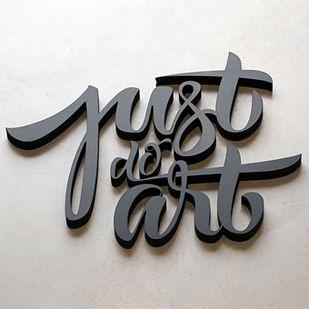impresion letras 3D PVC