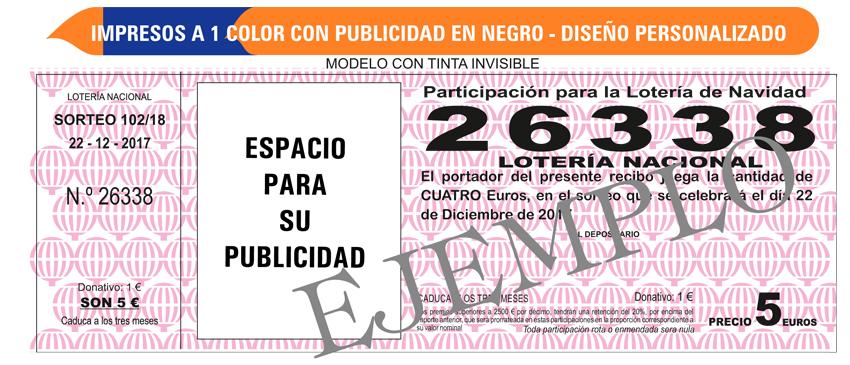 participacion de loteria fuencarral