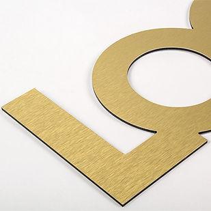 impresion letras oro plata