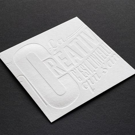 imprenta folleto golpe en seco artes graficas