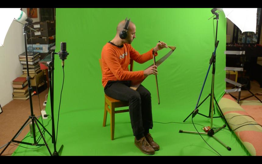 Paco Casasola - recording @ Joldwynds