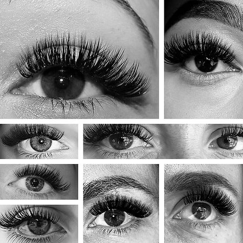 Eyelash Extensions London, Russian Volume